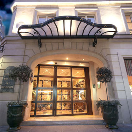 Hotel Royal Saint-Honore in Paris 1st Arrondissement