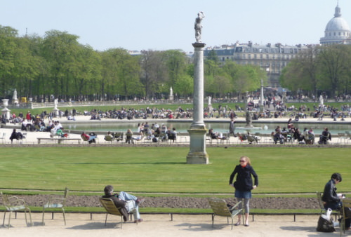 Luxembourg Gardens of Paris
