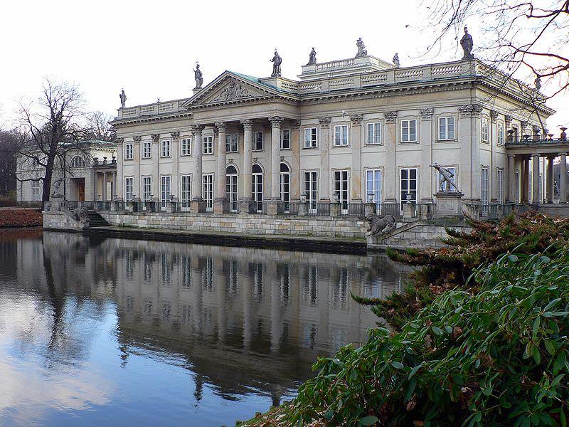 Royal Palace in Warsaw Photo by Wojsyl