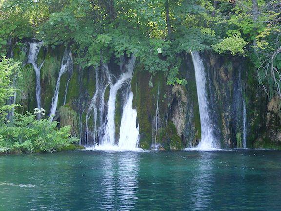Croatia Plitvice waterfall