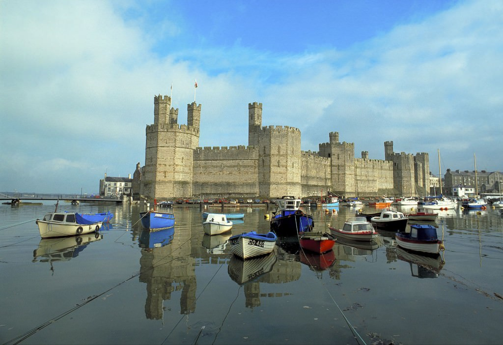 great sights in Wales: Caernarfon Castle