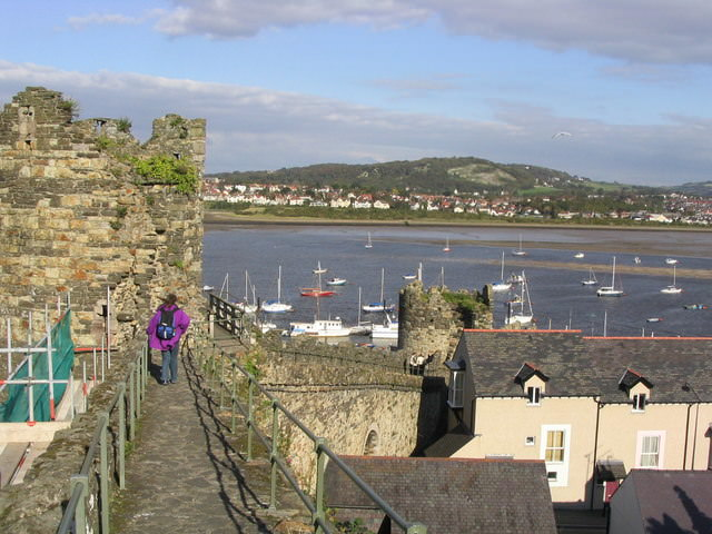 one of the great sights in wales, conwy castle