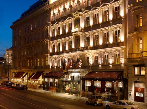 Vienna's Hotel sacher a great place to stay in Vienna