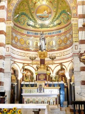 Altar of Notre Dame de La Garde