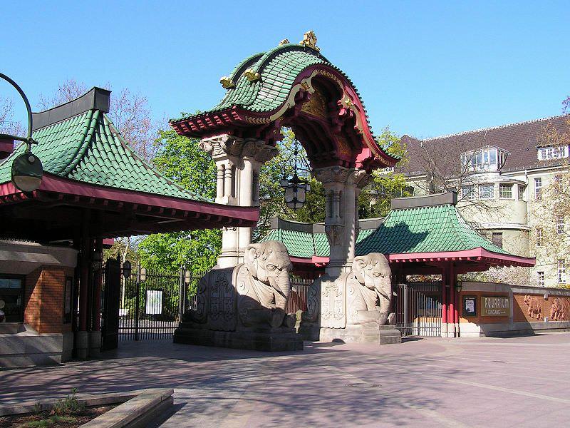 Berlin Zoo Elefant Gate