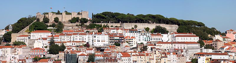 visiting Castle Saint George is a top thing to do in Lisbon