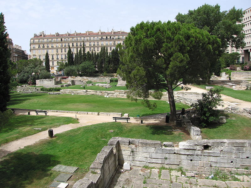 Jardin des Vestiges, a top historic site in Marseille
