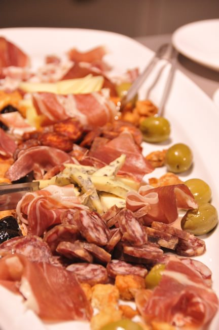 Typical Meat Plate in Zagreb