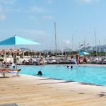 Pool at the Pullman Marseille Palm Beach