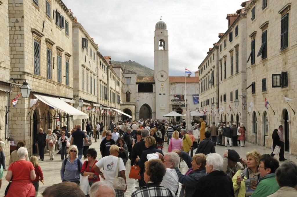 Plaka, Dubrovnik's main street.