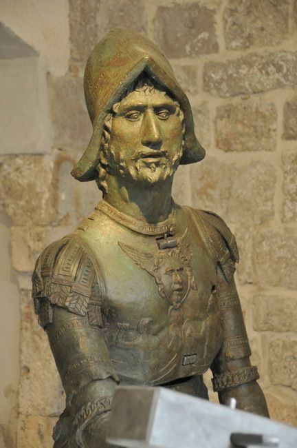 Statue in the Rector's Palace
