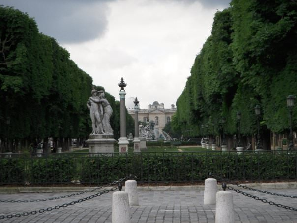 Le Palais in Luxembourg Garden