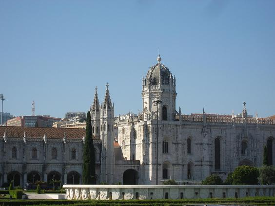 the Hieronymites monastery in Lisbon is a world heritage site