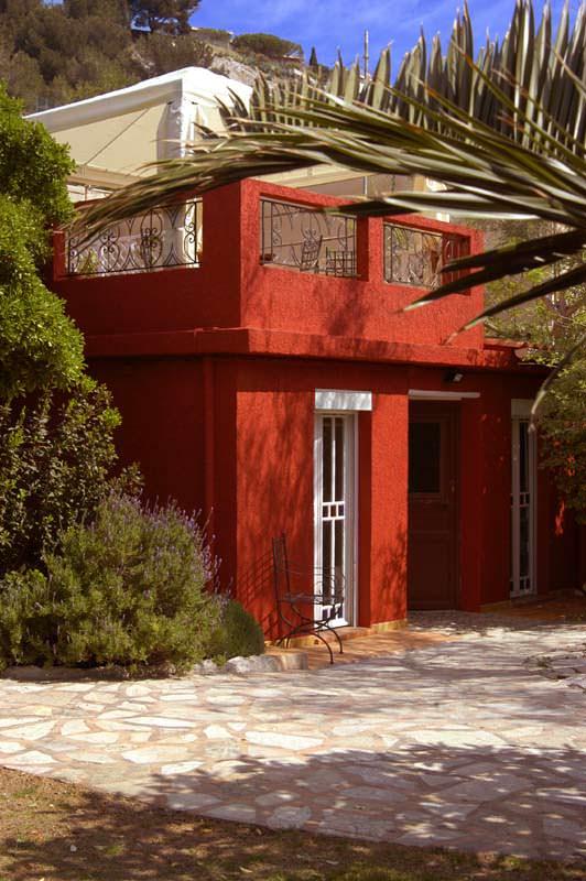 terrasse at the Villa-d'Orient in Marseille
