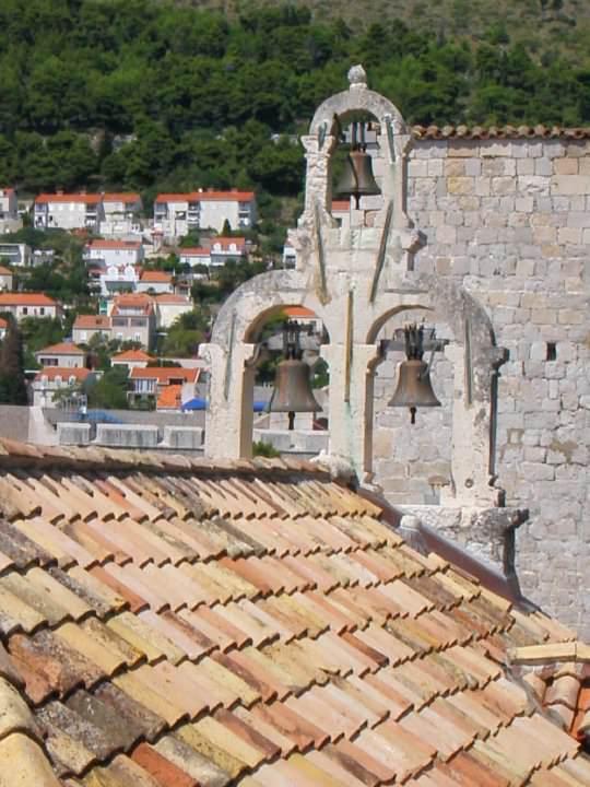 Church bells overlooking Dubrovnik