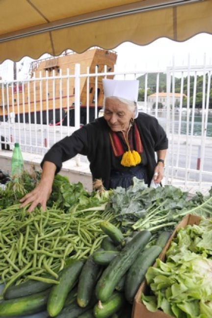 There are markets near where you stay in Dubrovnik