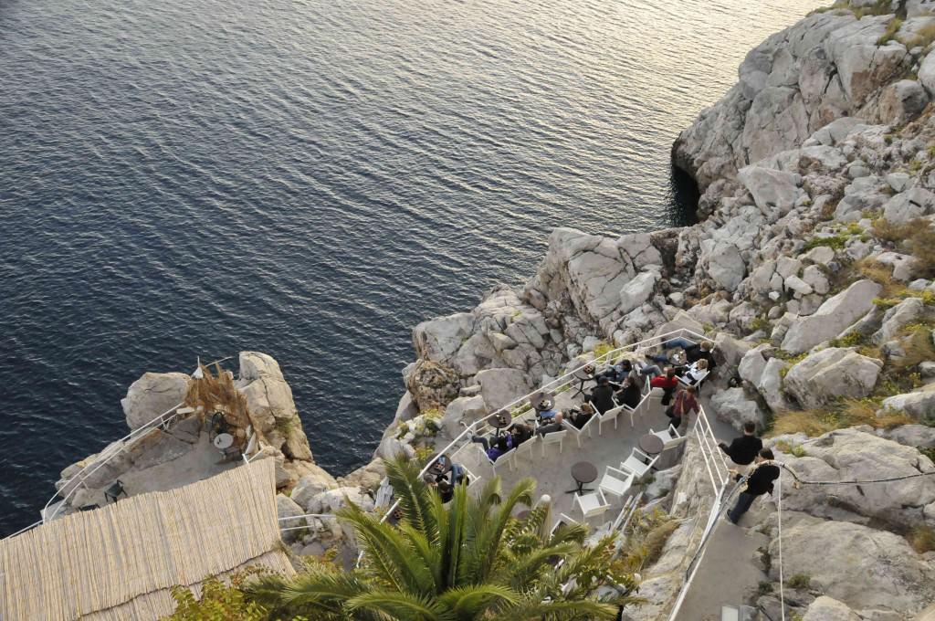 The Secret Beach in Dubrovnik