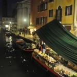 Fruit Boat at Night