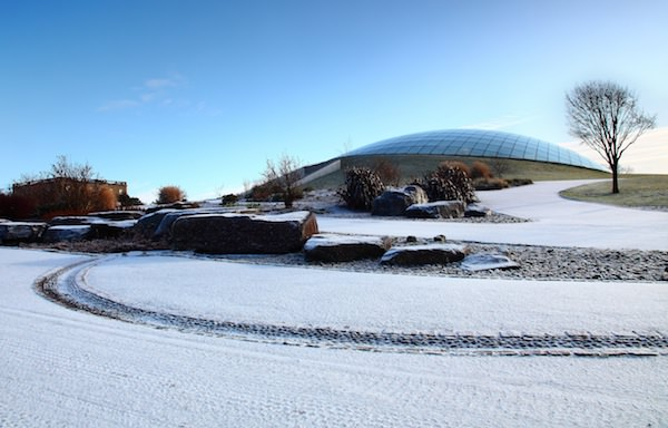 National Botanic Garden of Wales in snow - Visit Wales