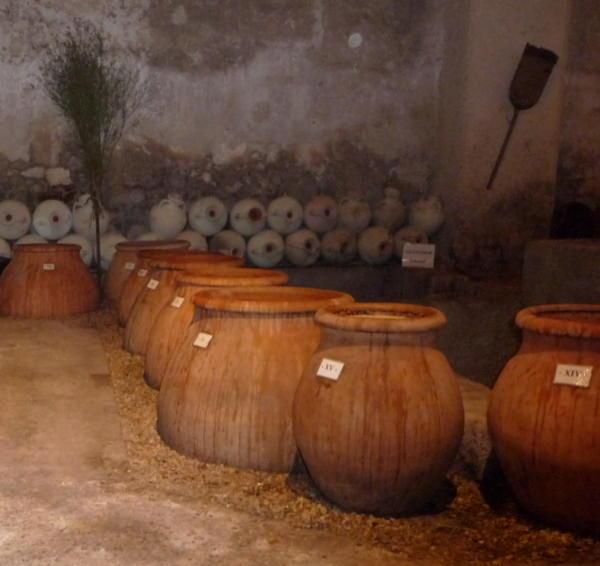 Amphoras at Mas des Tourelles