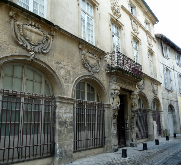 Former Merchant Hotel in Beaucaire