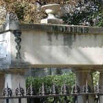 Pere Lachaise cemetery in the 20th Arrondissement