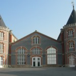 champagne pommery house is perfectly restored and maintained, its twin turrets draw you in for tasting