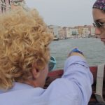 Venice Taxi Driver with Sonia