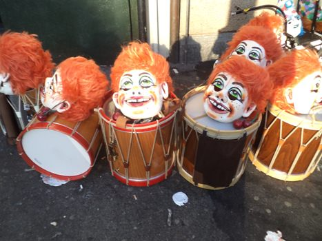 Drums at Basel's Fasnacht