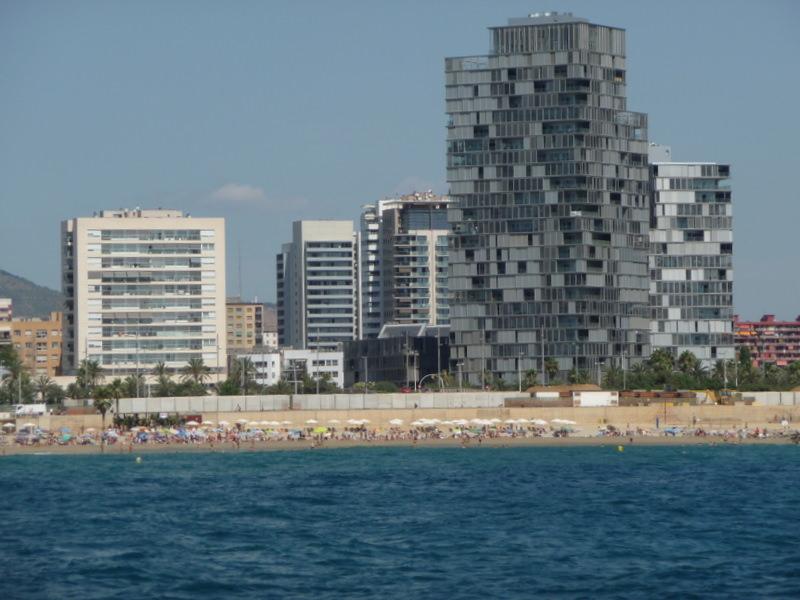 Eixample Neighborhood of Barcelona