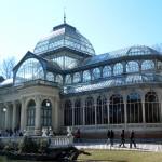 The Palacio de Cristal in the Parque del Buen Retiro
