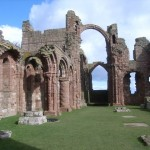 Lindisfarne Priory by Nicholas Mutton