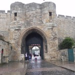 The Exchequer gate arch entrance to Lincoln Castle