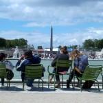 Jardin des Tuileries avec View of Obelisque