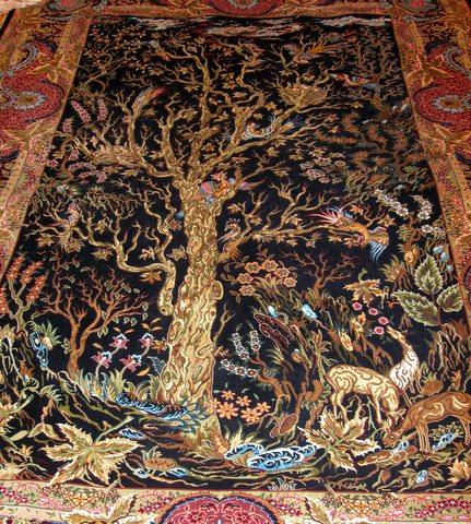 Intricate carpet designs