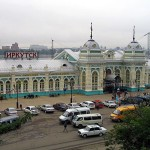 Irkutsk railway station
