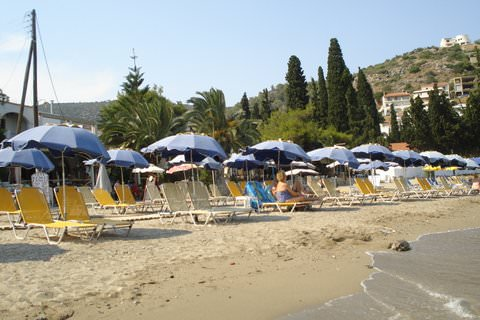 Kanali Beach in Poros