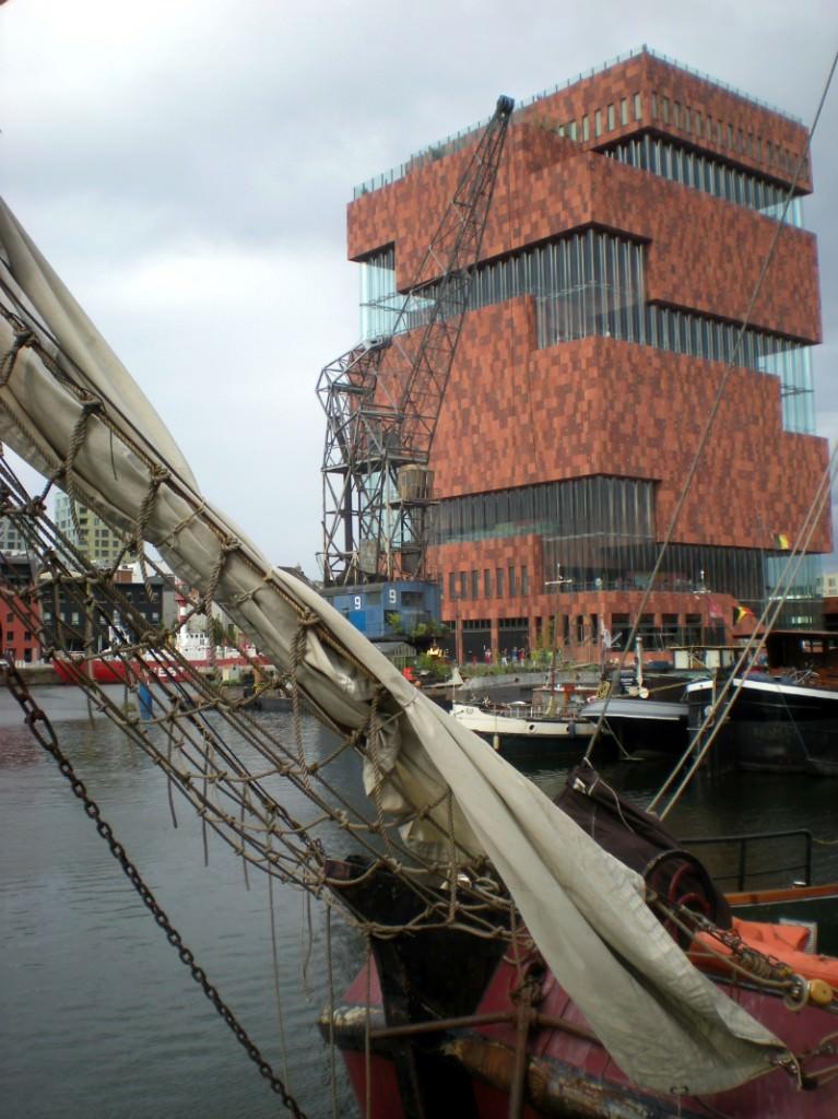 The Museum Aan de Stroom in Antwerp