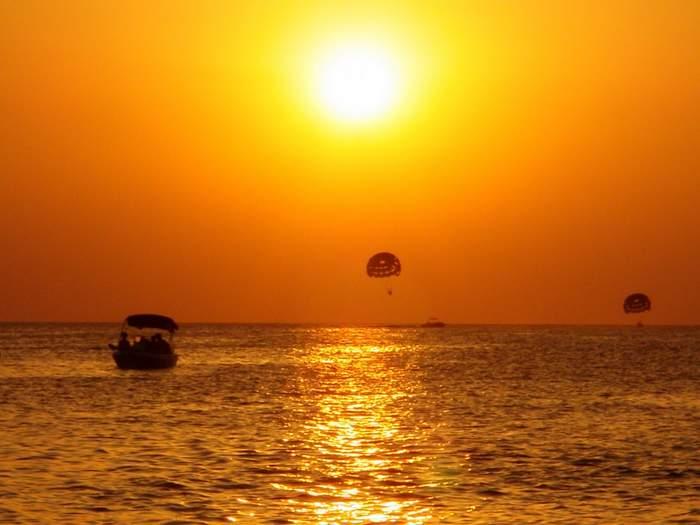 San Antonio beach in Ibiza