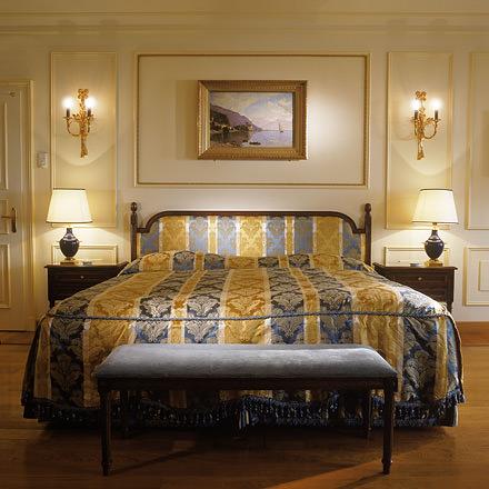 Superior room at Beau Rivage Palace