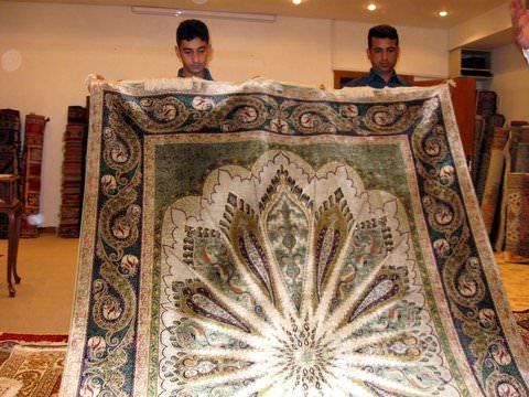 Award winning carpet