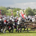 Recreation of the Battle of Tewkesbury