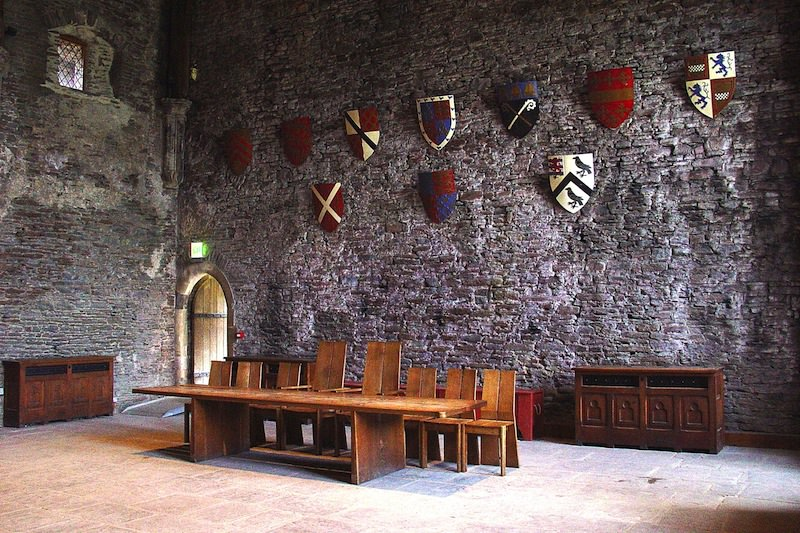 Caerphilly's Great Hall - Photo by Brian Jenkins