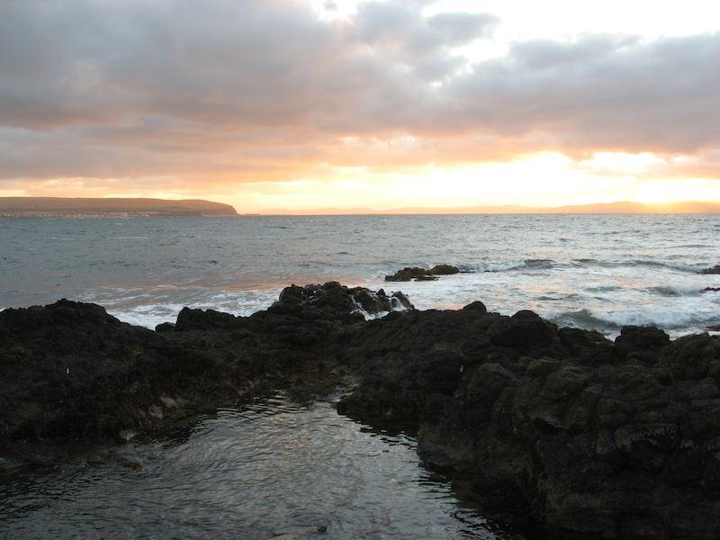 Dunluce at sunset