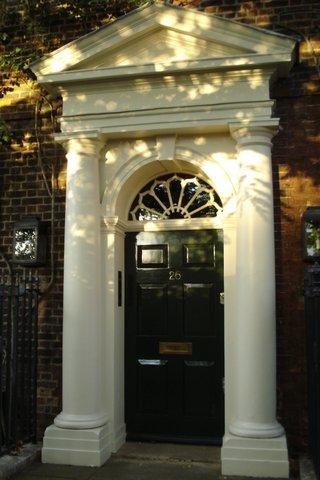 Georgian door in Hampsted Heath