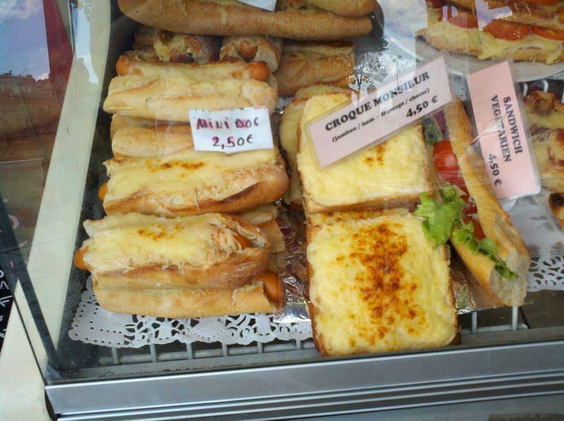 Hotdogs and Croque Monsieur