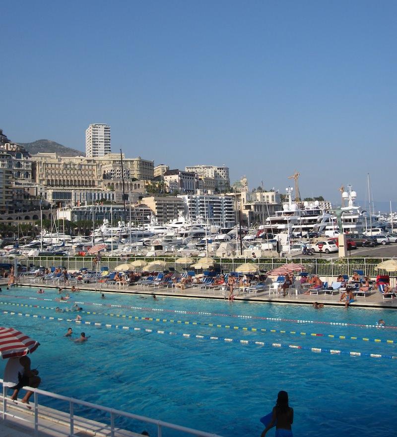 Pool at the Monaco Marina