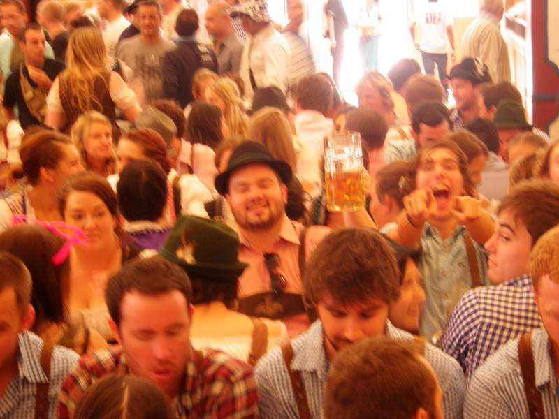 Theres no party like Oktoberfest.