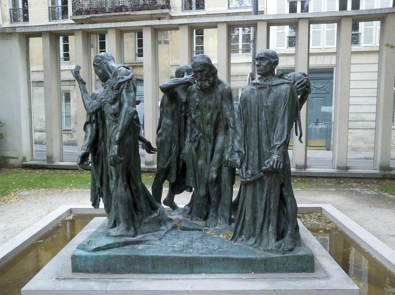Rodin Museum - Burghers of Calais