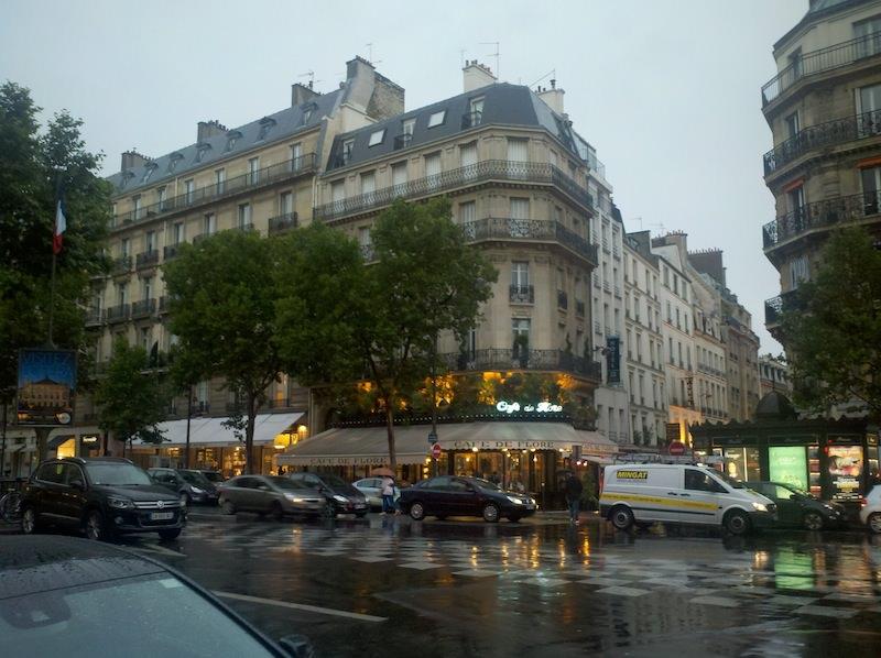 St Germain des Pres Cafe de Flore